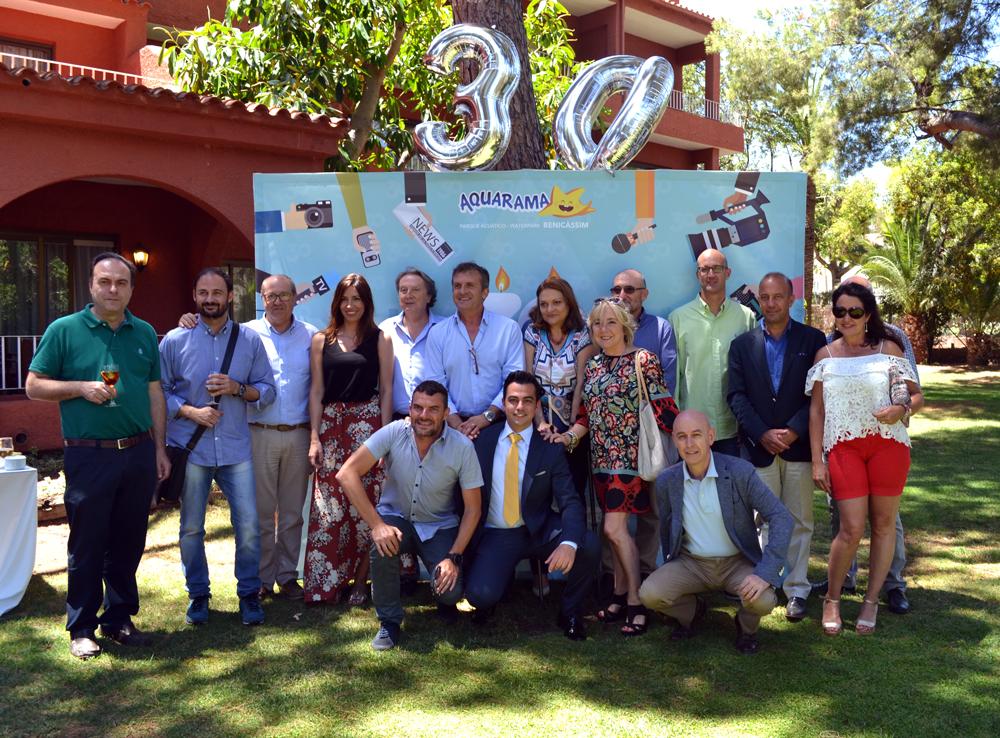 celebración 30 años de aquarama