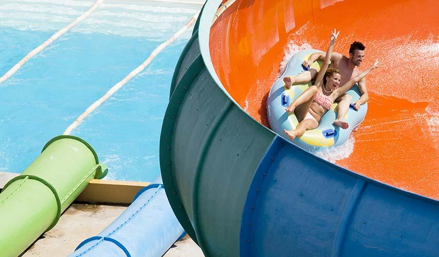 Del Salto del Diablo a las Dunas. Aquarama, un parque acuático con atracciones para todos los gustos y edades