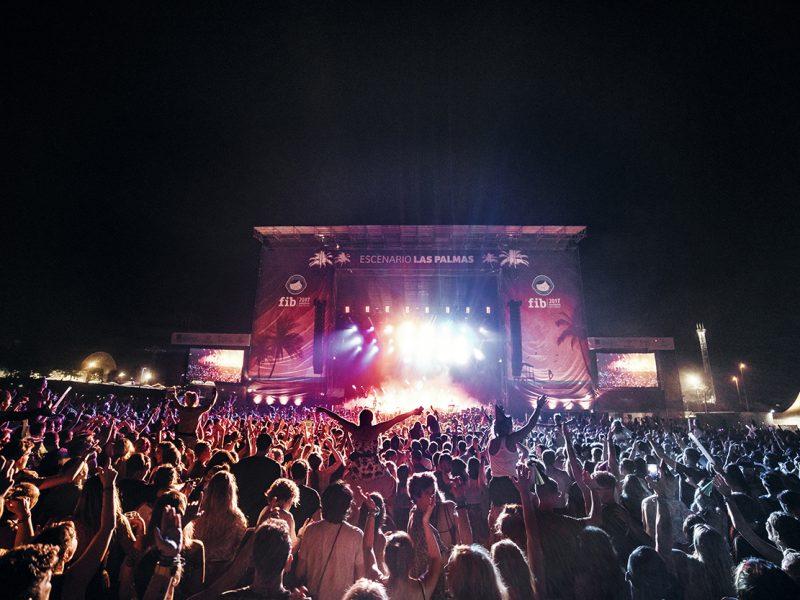 Los festivales de música y Aquarama